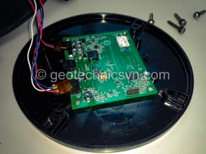 Kiểm tra bo mạch bộ ghi đo chuyển vị ngang Digitilt AT