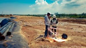 Quan trắc chuyển vị ngang Inclinometer dự án đường giao thông tại Quảng Nam