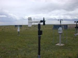 Thiết bị quan trắc điện gió: Cảm biến đo tốc độ gió-hướng gió 05103