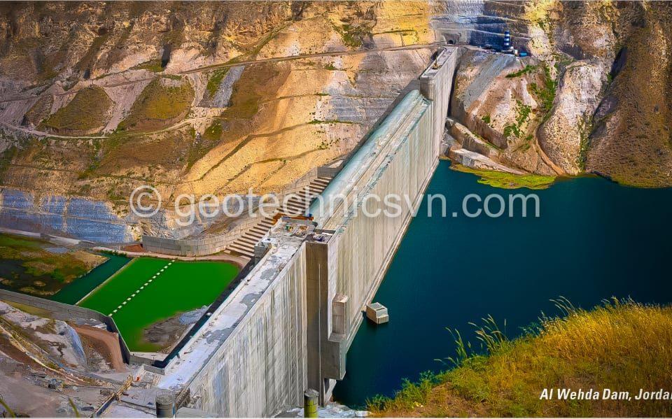 Đập thuỷ điện Al-Wehda Jordan