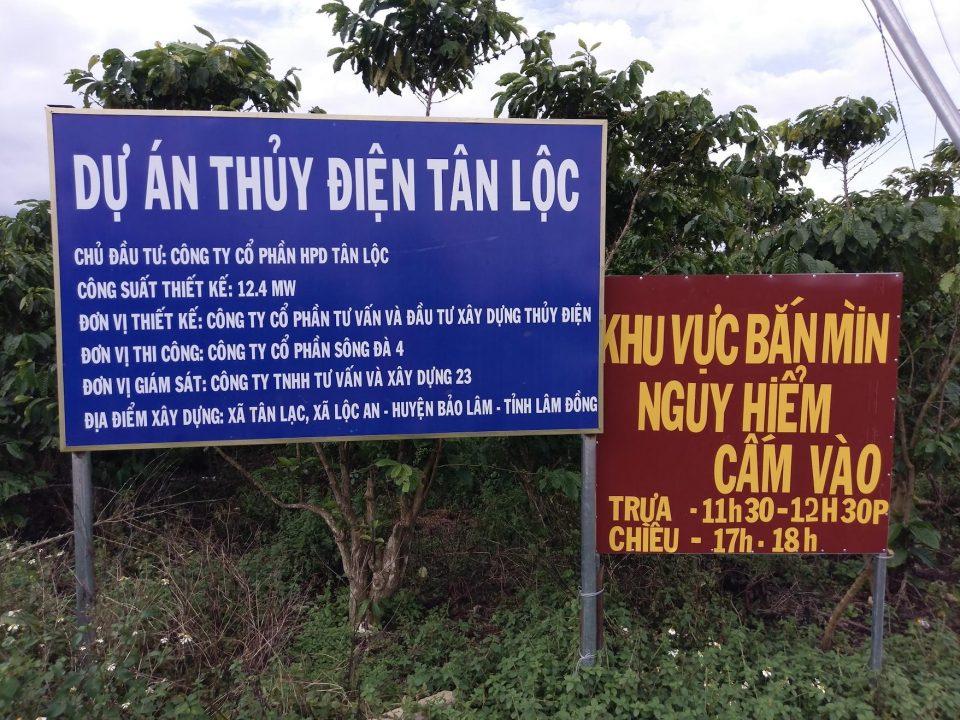 Thiết bị quan trắc thuỷ điện Tân Lộc